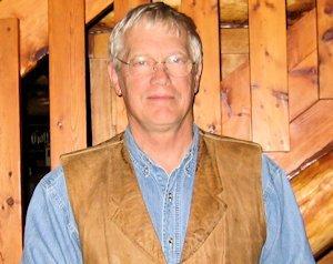 John Eggers in John Wayne Vest