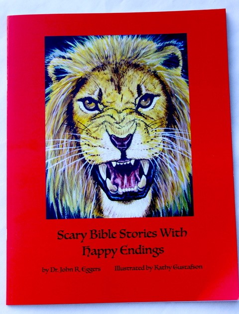 Scary Bible Stories With Happy Endings - Cover Art